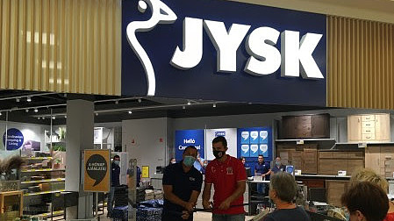 Új üzletet nyitott a Jysk