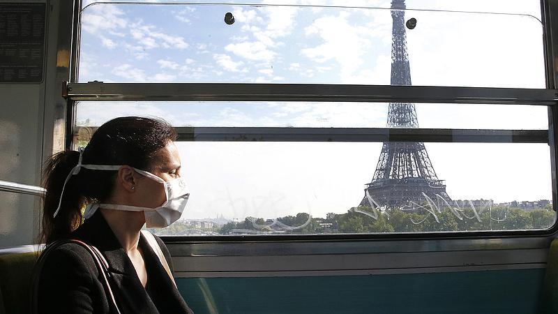Újabb rekordot döntött a napi esetszám Franciaországban