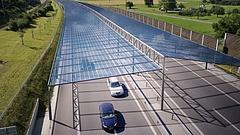Napelemmel fednék be a német autópályákat