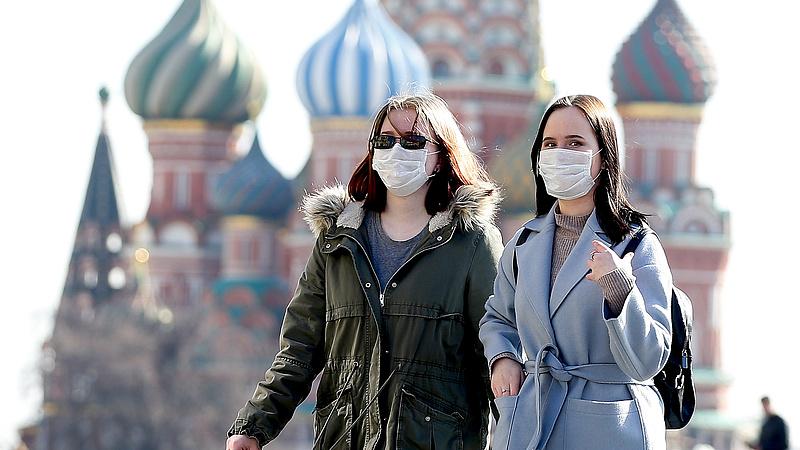 Felpörgött az oroszoknál is a járvány