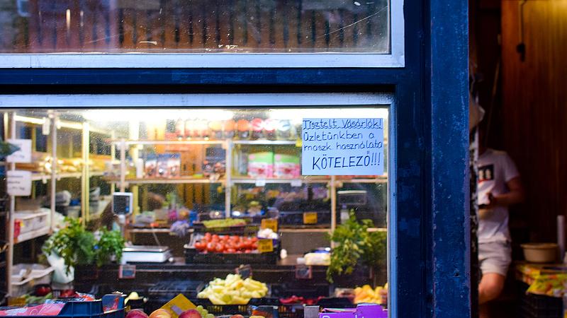 Kijárási tilalom: a Reál is üzent a magyar vásárlóknak