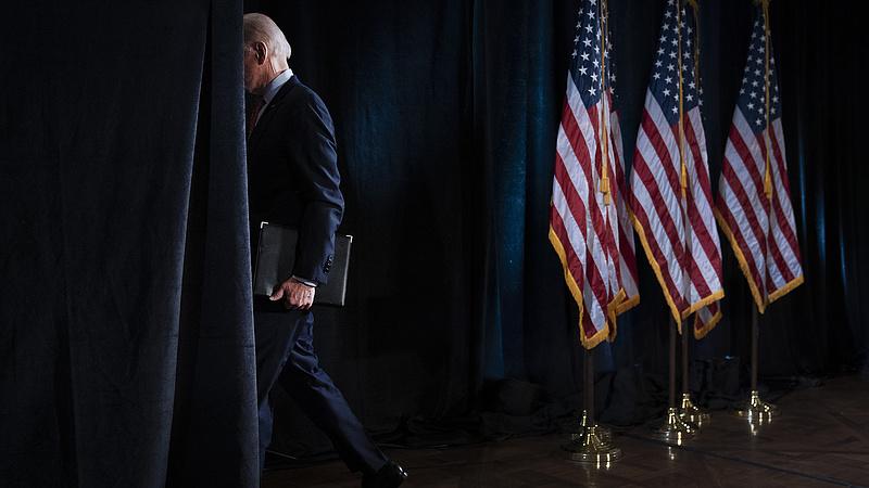 Biden bakizott, Trump támadott