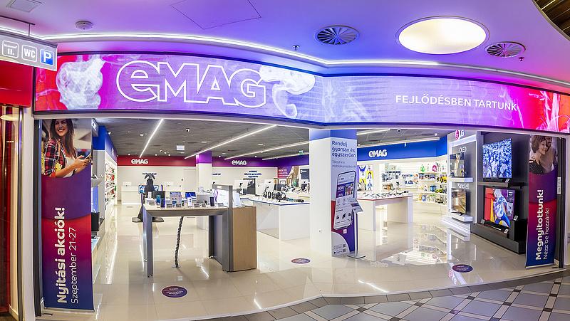 Új eMAG-bolt nyílt Budapesten