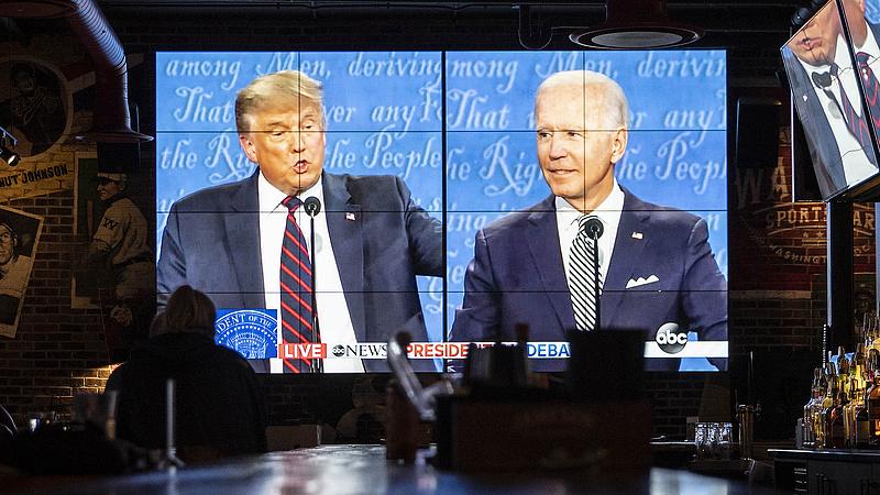 Joe Biden nem kapta el a vitán a koronavírust