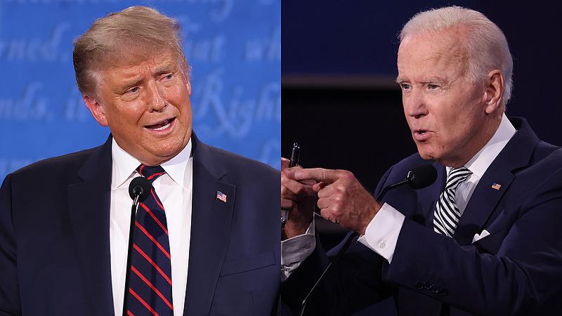 Újra összecsapott Trump és Biden