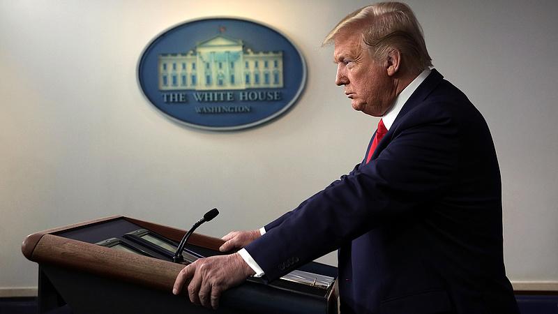 Trump utalást tett arra, hogy esetleg mégis elvesztette a választást