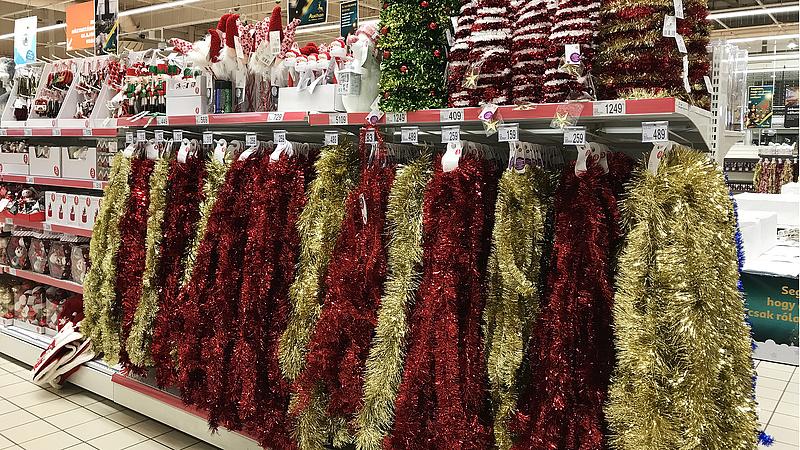 Óvatosan a vásárlással - az év végéig bővül a karácsonyi kínálat