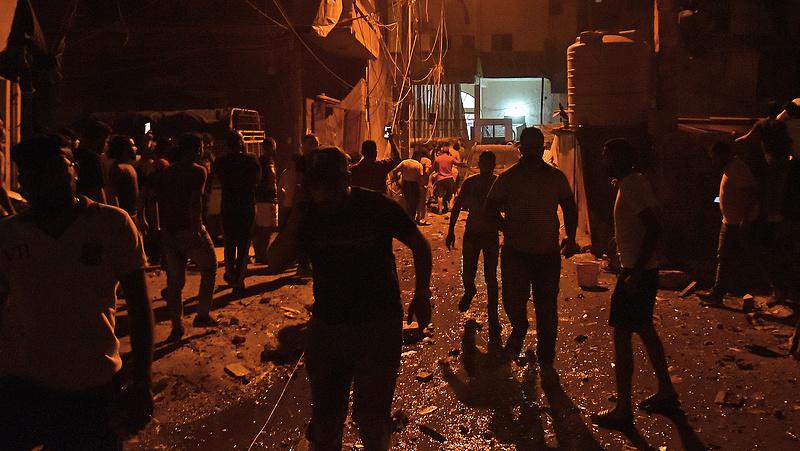 Felrobbant egy üzemanyagtartály Bejrútban