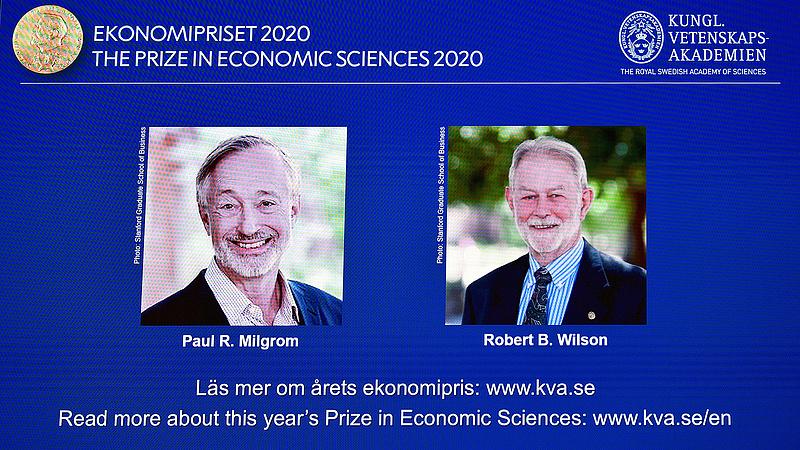 Az árverési mechanizmusok kutatásáért járt a közgazdasági Nobel-díj