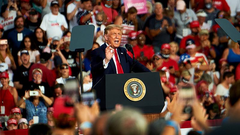 Trump rajongótábora erőt merített az elnök betegségéből