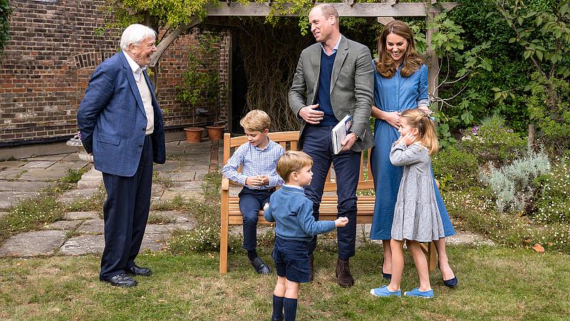 Vilmos herceg szívszorító helyzetbe került gyerekével