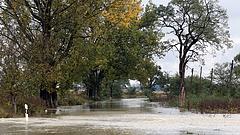 Településeket zártak el az áradások Borsod-Abaúj-Zemplén megyében