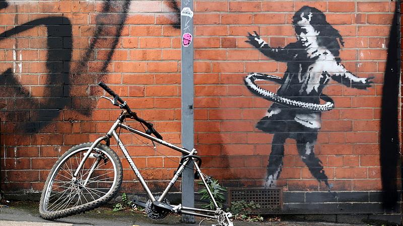 Vége a találgatásoknak: Banksy új művel jelentkezett