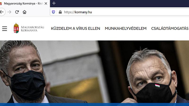 Nézze meg, megújult a kormány honlapja!