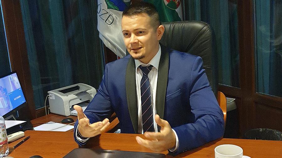 Janiczak Dávid, Ózd polgármestere.