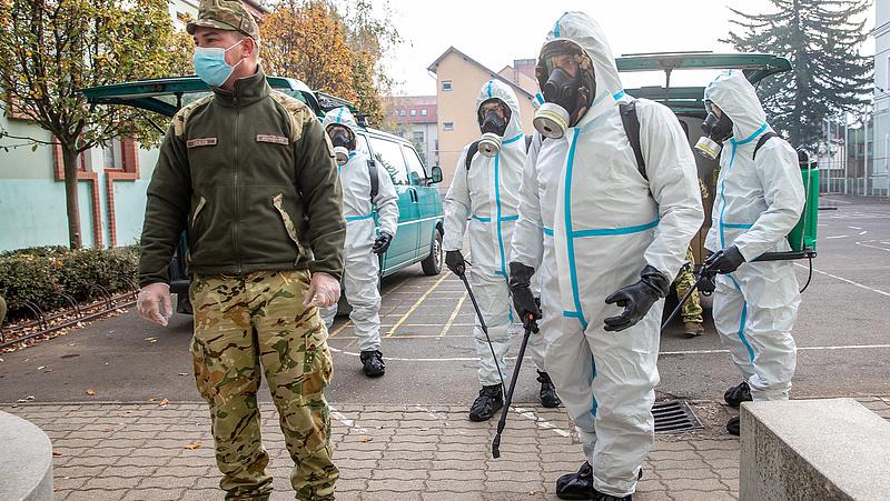 Koronavírus: elkezdődött az iskolák fertőtlenítése