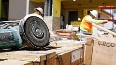 Márciusban, éves alapon 4,3 százalékkal nőtt az építőipari termelés