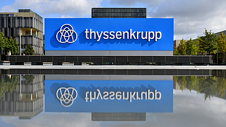 Jelentősen csökkent a Thyssenkrupp vesztesége