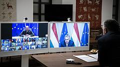 Tizenöt perc jutott a magyar vétónak az uniós csúcson, aztán továbbléptek