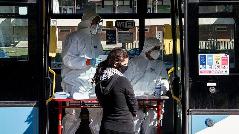 Koronavírus: újabb 2967 beteg és 185 halott Magyarországon