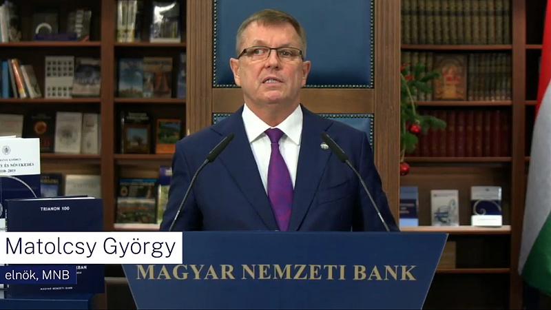 Matolcsy György elárulta, mikor lesz euró Magyarországon