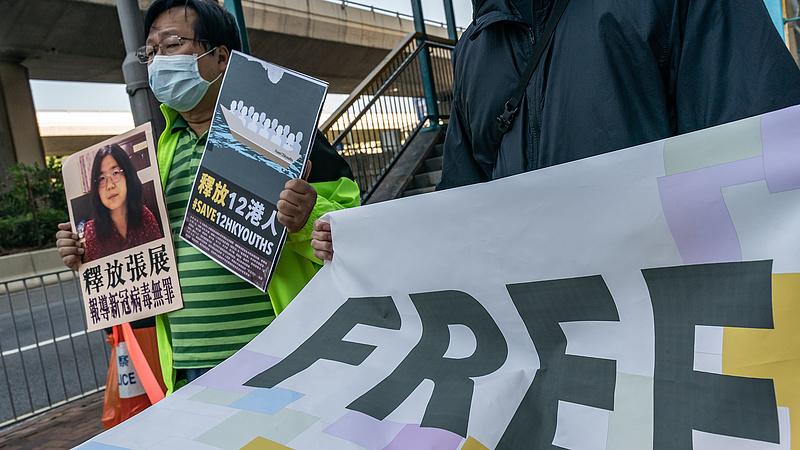 Bebörtönözték a kínaiak a koronavírus-járványról elsőként tudósító újságírót
