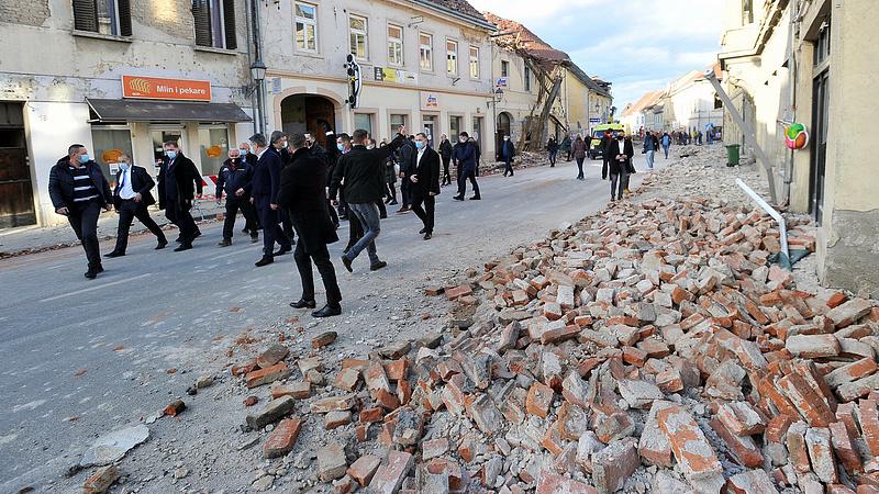 Földrengés: több káreset volt Magyarországon, mint Horvátországban