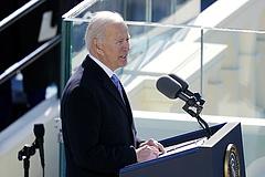 Biden elnök bátorságot ígért és egységet kért