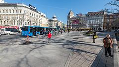 Megújul a Blaha Lujza tér, változik a forgalmi rend is