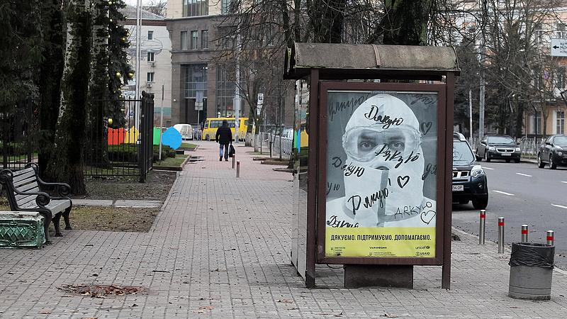 Ukrajnában tovább mérséklődött a járvány terjedése