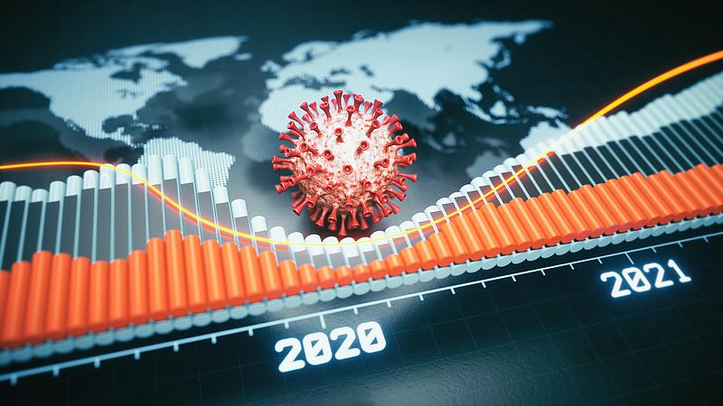 A járvány harmadik hulláma miatt lassult a GDP-növekedés az OECD-ben