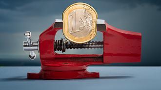 Csökkent az euróövezeti és az uniós GDP az első negyedévben