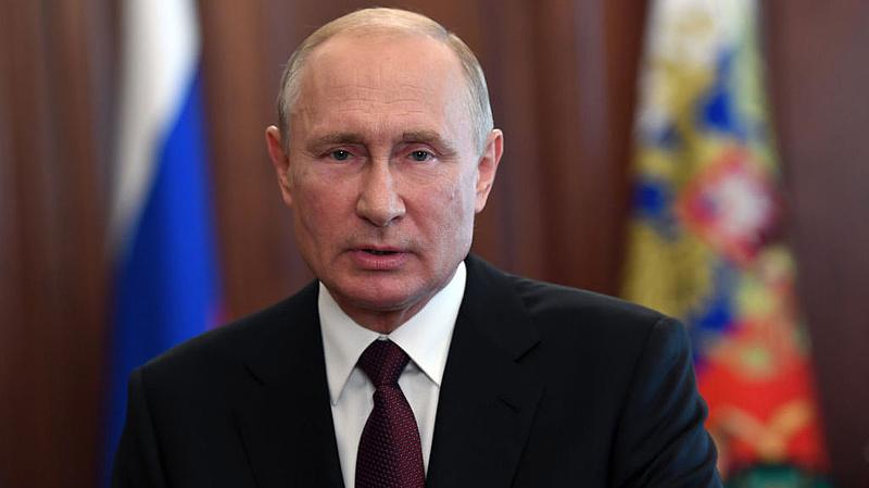 Vészjósló üzenetet küldött Putyin