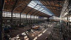 Elkészült a Nyugati pályaudvar csarnokának tetőszerkezete