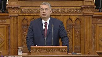 Orbán már Brüsszelben