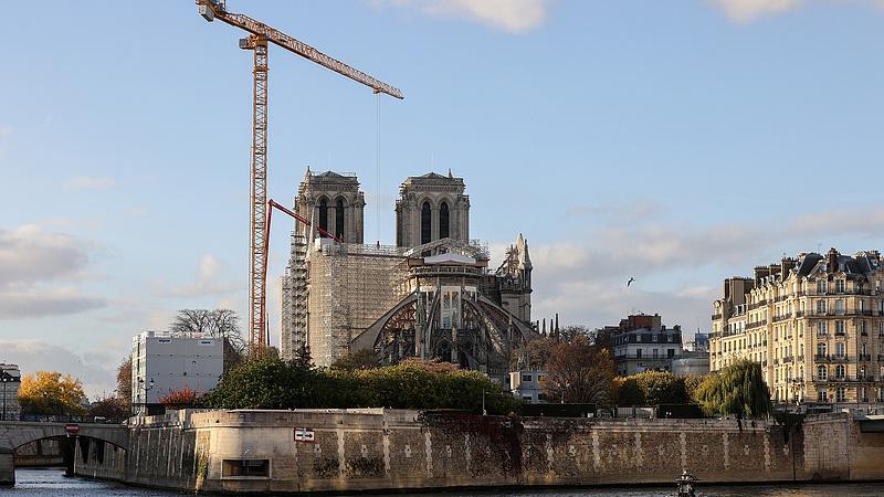 Újra szakaszba lépett a Notre-Dame felújítása