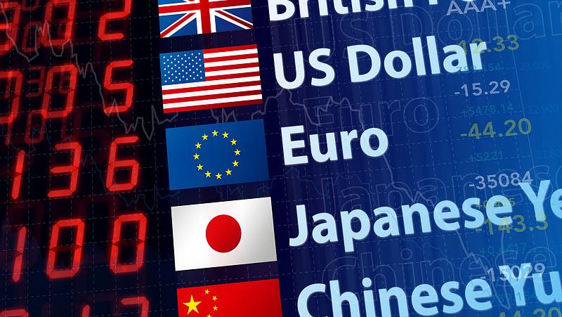 A forint alulmaradt a dollárral szemben