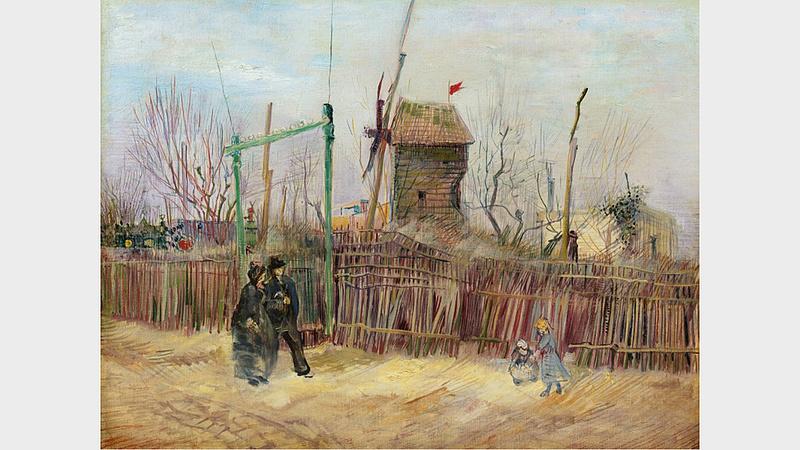 Gyönyörű van Gogh-kép került elő, a közönség soha nem láthatta
