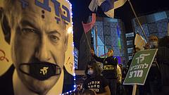 Tömegek tüntettek Netanjahu ellen Izraelben