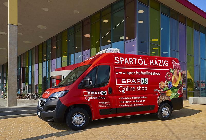 Robbantásra készül a Spar online shop