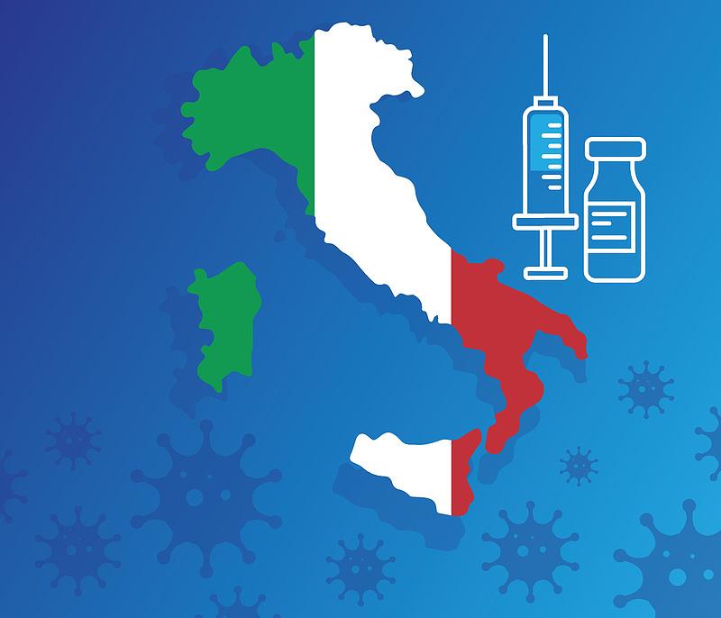 Olaszországban is gond, hogy sokan nem szeretnék beoltatni magukat