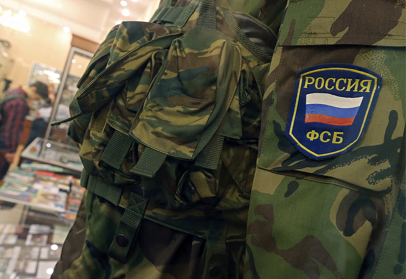 Oroszország titkosszolgálati letartóztatással élezi a konfliktust Ukrajnával