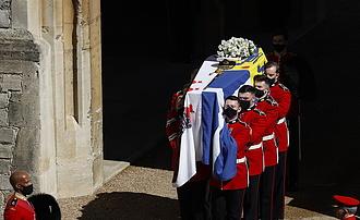 Eltemették Fülöp edinburghi herceget
