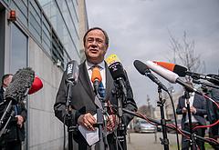 A CDU Armin Laschet pártelnököt javasolja kancellárnak