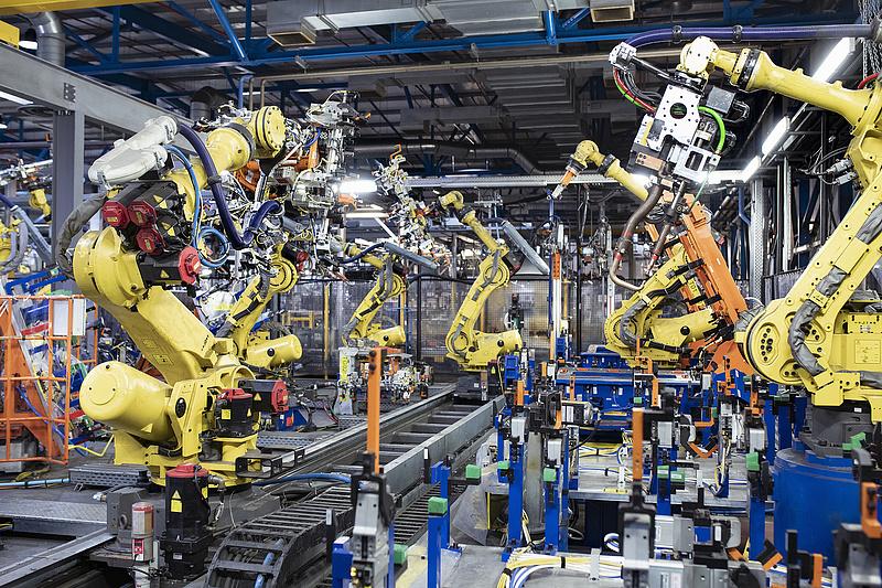 9,8 százalékkal emelkedtek az ipari termelői árak áprilisban