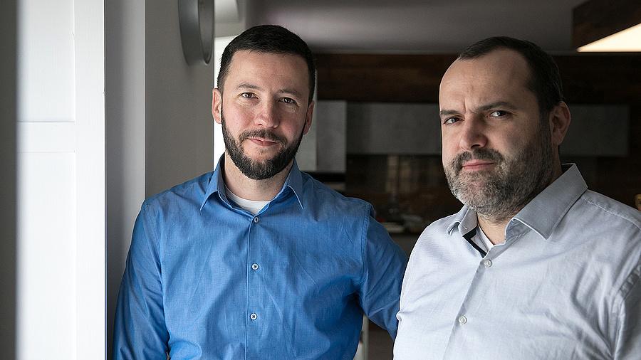 Kis-Márton Vidor vezérigazgató és Tegzes Dániel stratégiai igazgató (Continest)