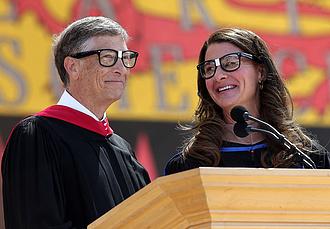 Még el sem vált, Melinda Gates máris dollármillliárdos lett