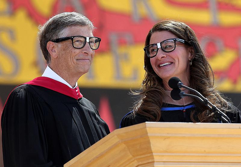 Bill és Melinda Gates elválnak