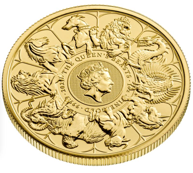 A tízkilós aranyérme egyből, méregdrágán is elkelt