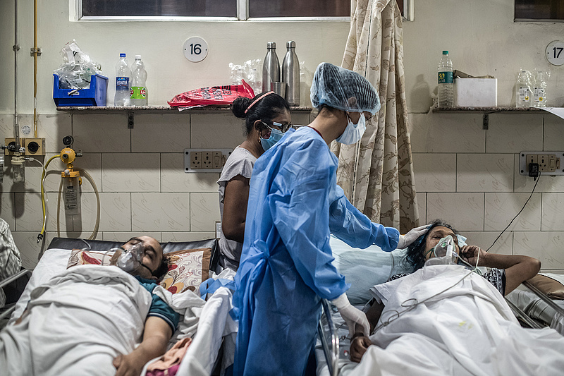 Ha nem lenne elég a Covid, feketegomba-fertőzés öli a koronavírus-betegeket Indiában